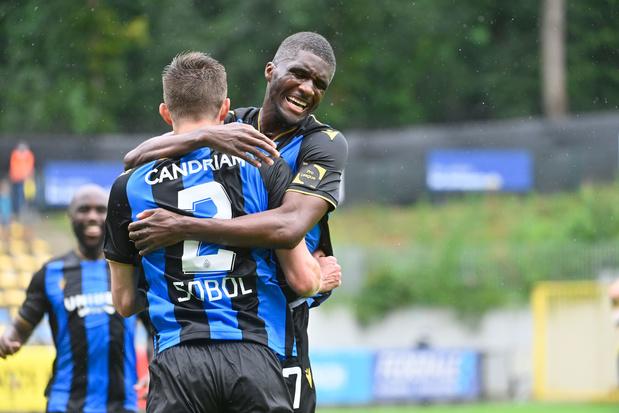 Club Brugge wint op een diefje bij Union na knappe uithaal Sobol