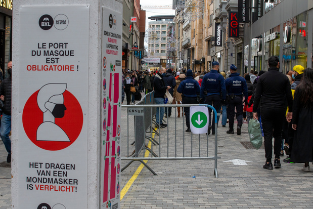 Le couvre-feu reste maintenu jusqu'au 31 mars à Bruxelles