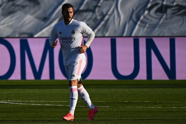"""Le cauchemar d'Eden Hazard n'en finit plus: """"Il y a des choses que je ne peux pas expliquer"""", dit Zidane"""