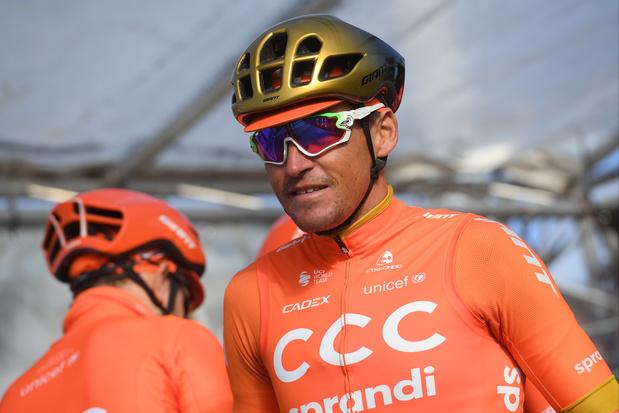 Greg Van Avermaet knalt naar de zege in virtuele Ronde van Vlaanderen