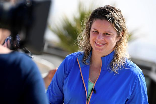 Kim Clijsters wint ook haar derde wedstrijd