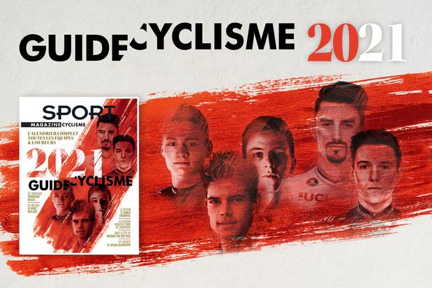 Découvrez notre Guide Cyclisme 2021, en vente dès ce jeudi !