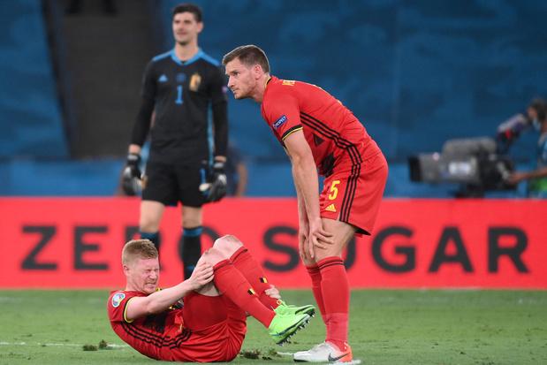 EURO 2021: inquiétudes pour Eden Hazard et Kevin De Bruyne