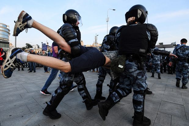 Plus de 1.000 arrestations à Moscou pendant une manifestation de l'opposition