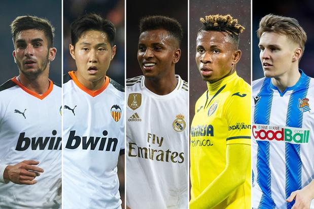 La Liga: vijf talenten om in de gaten te houden