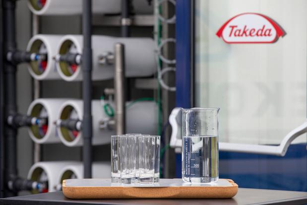 Lessines: La société pharmaceutique Takeda inaugure une nouvelle ligne de production, 100 emplois créés
