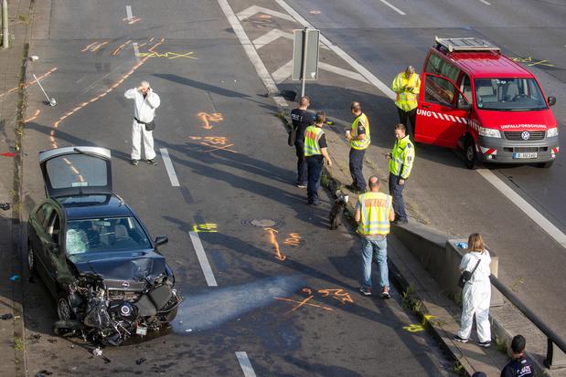 """Allemagne: les accidents provoqués sur l'autoroute traités comme """"probable attentat islamiste"""""""
