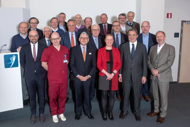 Réseau hospitalier au coeur de l'Europe : signature officielle