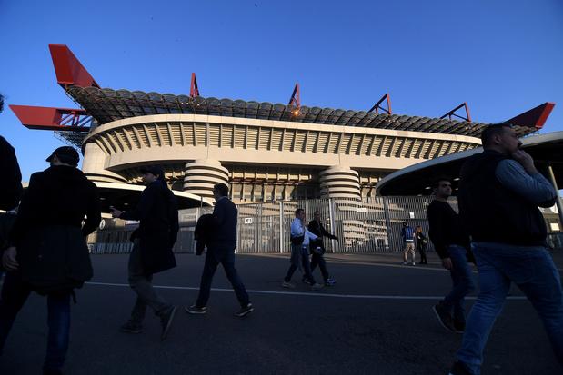 L'AC et l'Inter Milan présentent leur projet de nouveau stade