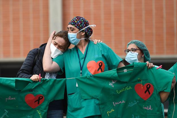 L'Espagne voit son nombre de morts repartir à la hause
