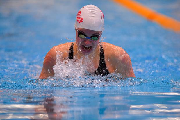 Mondiaux de natation: Fanny Lecluyse bat son record belge et se qualifie pour les demi-finales 100m brasse
