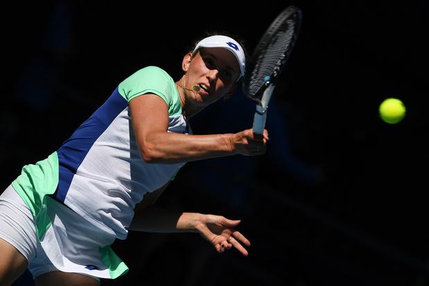Elise Mertens qualifiée pour les 8e de finale