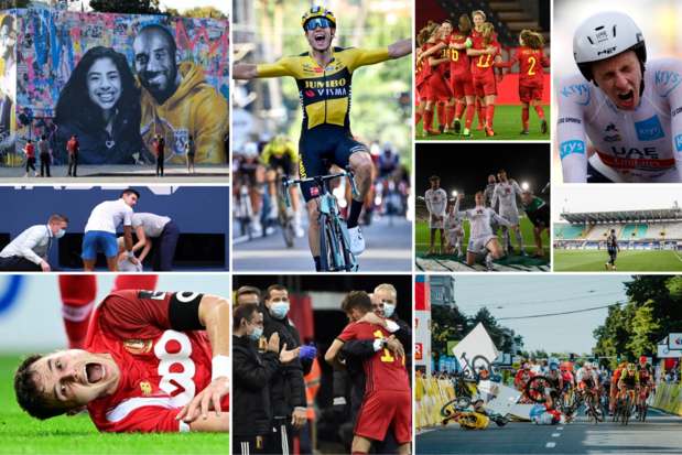 Overzicht: onze sportmomenten van 2020