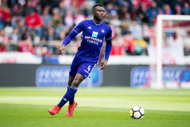 Anderlecht prête Bubacarr Sanneh