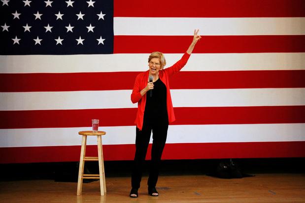 'Elizabeth Warren vindt de breuklijn tussen kapitalisme en socialisme opnieuw uit'