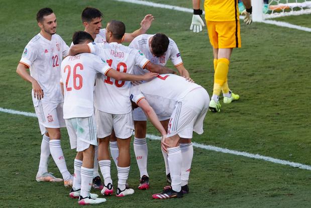 EURO 2021: l'Espagne enfile cinq buts à la Slovaquie et se qualifie pour les huitièmes de finale