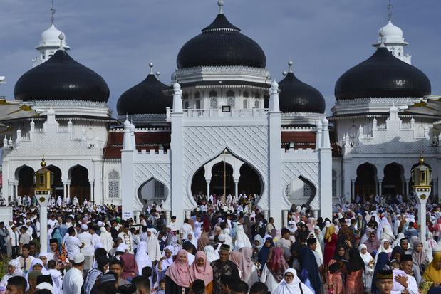 Les musulmans fêtent l'Aïd el-Kebir