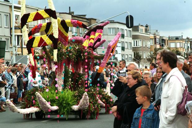 Blankenberge: Le traditionnel corso fleuri remplacé par des tapis de fleurs