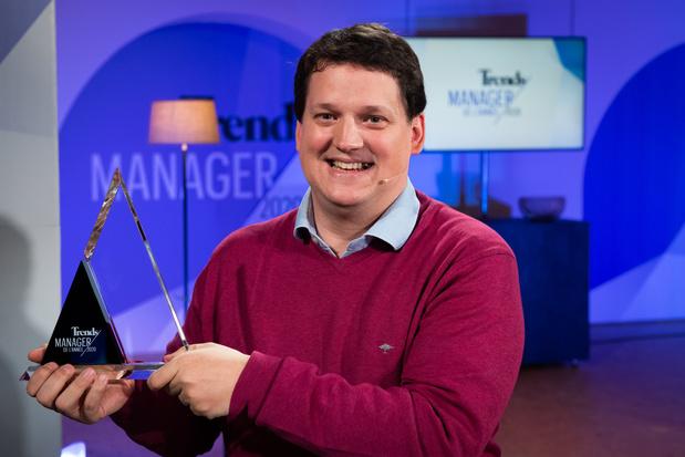 Fabien Pinckaers, visionnaire du numérique, est le Manager de l'Année 2020