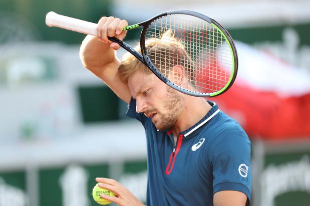 Roland-Garros: David Goffin sorti dès le premier tour par Lorenzo Musetti