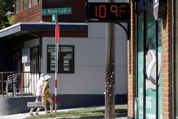 Honderden overlijdens in VS en Canada mogelijk gelinkt aan hittegolf
