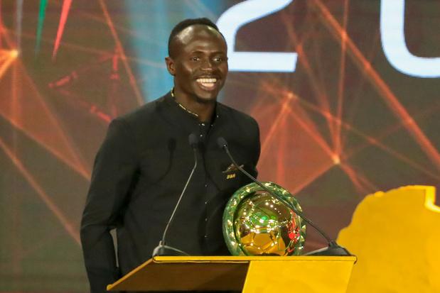 Sadio Mané meilleur joueur africain de 2019