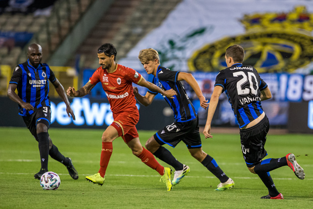 Coupe de Belgique: Bruges-Antwerp, qu'est-ce qui a changé depuis la finale d'août dernier?
