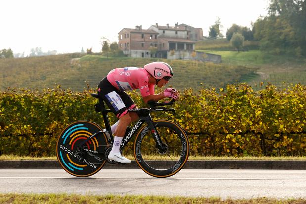 Dagboek uit de Giro - dag 15: feest in Col San Martino
