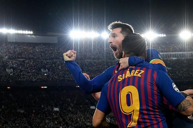 Barcelona met één been in Champions League-finale na 3-0 winst tegen Liverpool