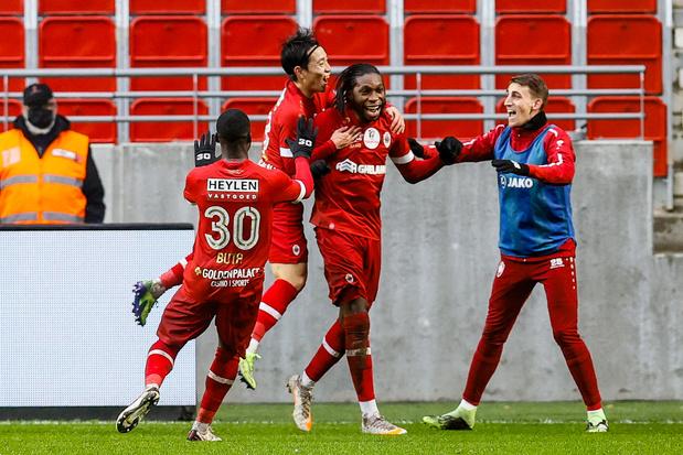 Plusieurs joueurs de l'Antwerp en quarantaine à leur retour