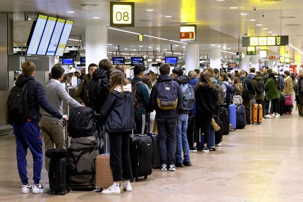Grève du zèle à Brussels Airport: des perturbations attendues jusqu'au 1er mars
