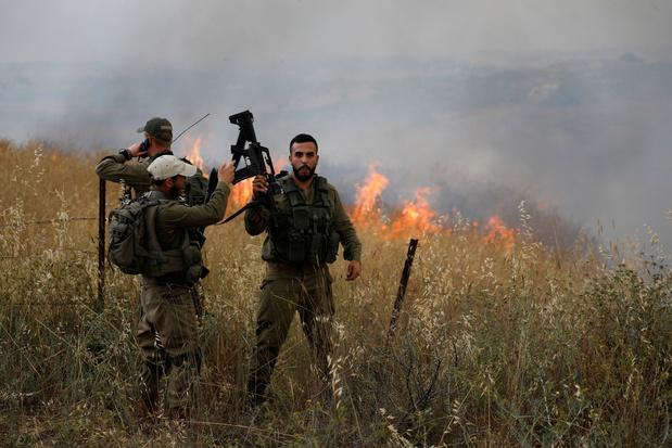 Israël sluit visgebied bij Gaza na ballonprotesten