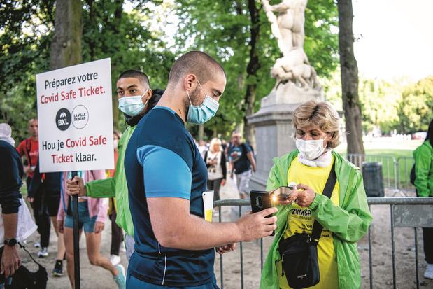 Le Covid Safe Ticket s'appliquera en Wallonie dès le 1er novembre