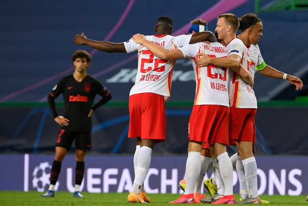 Champions League: RB Leipzig schakelt Atletico Madrid uit en staat in halve finales