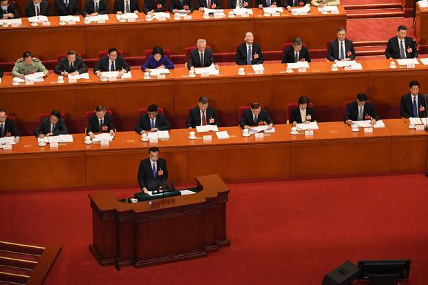 China stelt door coronavirus geen doel voor economische groei