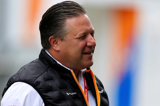 """McLaren veut continuer son """"rétablissement"""""""