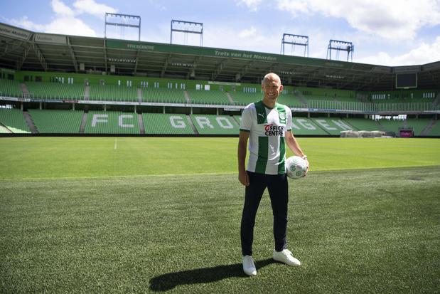 Robben signe pour un an dans son club de coeur