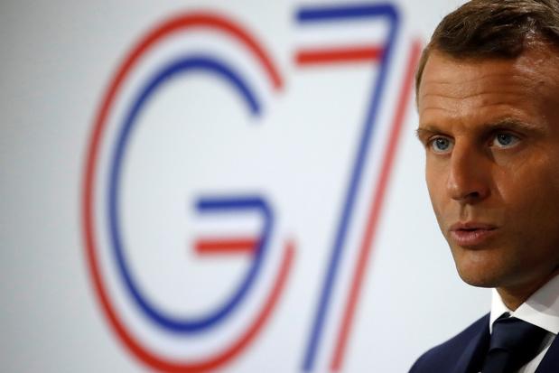 Macron a rencontré Raoni à l'issue du G7