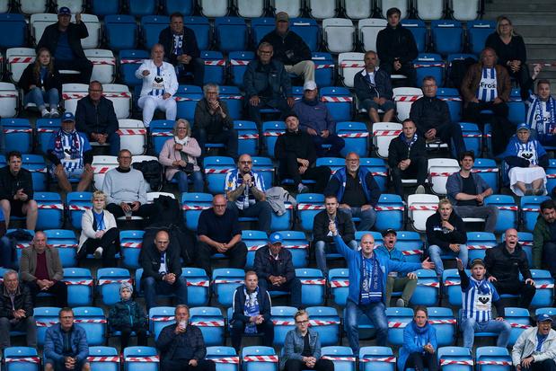 Denemarken experimenteert met wedstrijden met meer dan 500 supporters