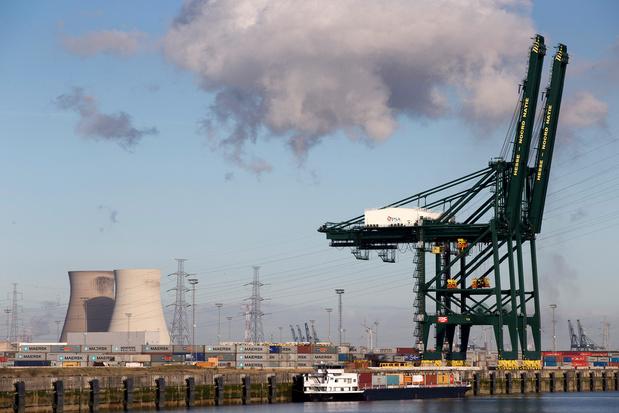 Deux nouveaux ponts ferroviaires aménagés dans le port d'Anvers