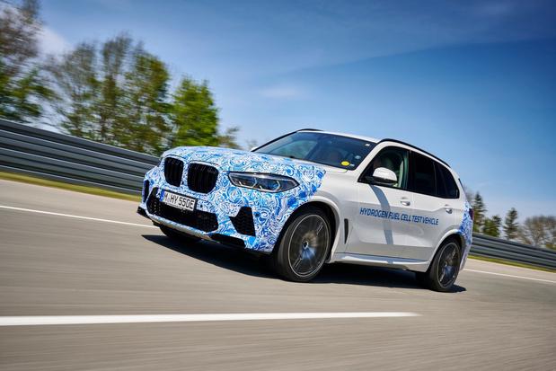 BMW X5 op waterstof