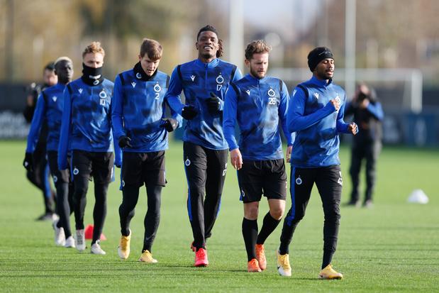 Ligue des champions: les scénarios pour le Club Bruges passe l'hiver européen