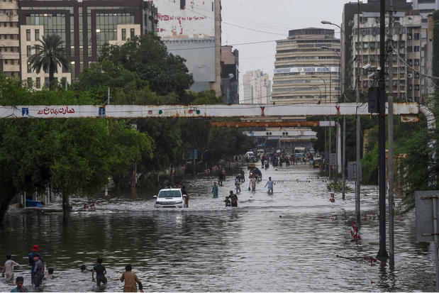 Karachi, Venise malgré elle d'Asie du Sud, mousson après mousson (en images)