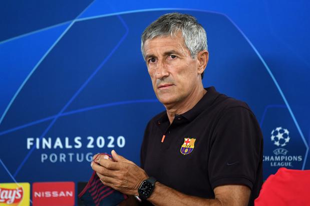 Ontslagen coach Setién dreigt Barcelona voor rechtbank te dagen