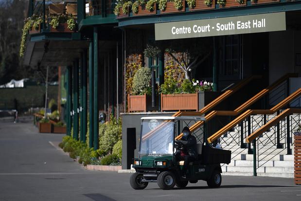 Baas Wimbledon: 'Mogelijk in heel 2020 geen tennis meer'