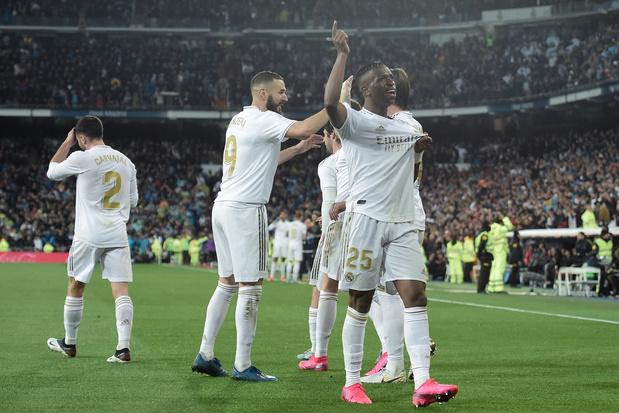 Le Real Madrid en quarantaine, la Liga suspendue