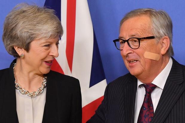 """Brexit: l'UE """"travaillera jusqu'au dernier moment"""" pour éviter un divorce sans accord"""