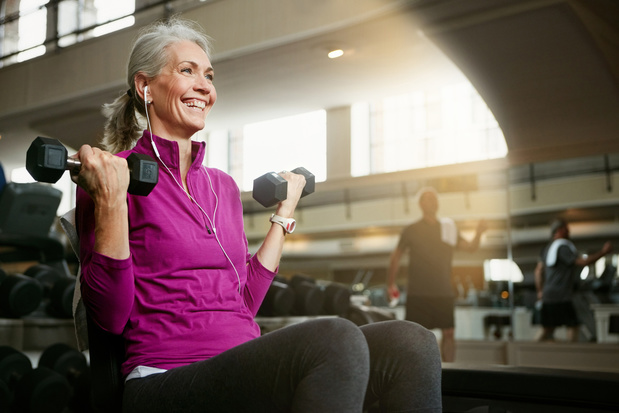Het is nooit te laat om de spieren te versterken