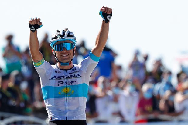 Aleksej Loetsenko soleert naar etappewinst in Tour de France, Van Avermaet derde