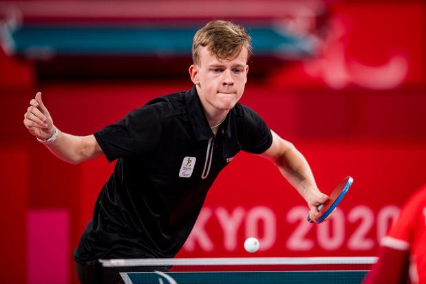 Laurens Devos qualifié pour les quarts de finale en tennis de table